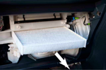 ラクティス(120系) エアコンフィルター